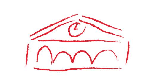 保育園の絵